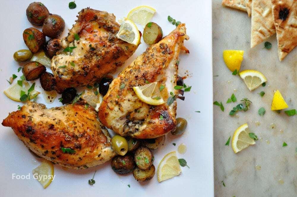 Lemon Garlic Chicken, Lead - Food Gypsy