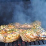Butter Basted Grilled Chicken - Food Gypsy