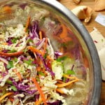 Sweet & Sour Slaw with Honey Vinaigrette - Food Gypsy