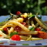 Warm Wax Bean Salad - Food Gypsy