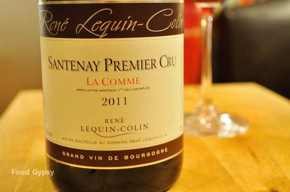Rene Lequin-Colin La Comme, Santenay Premier Cru 2009 - Food Gypsy