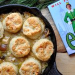 Chicken Mushroom Cobbler with Gruyere Herb Biscuits - Food Gypsy