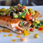 Latin Spiced Salmon Avocado Salsa1, Food Gypsy