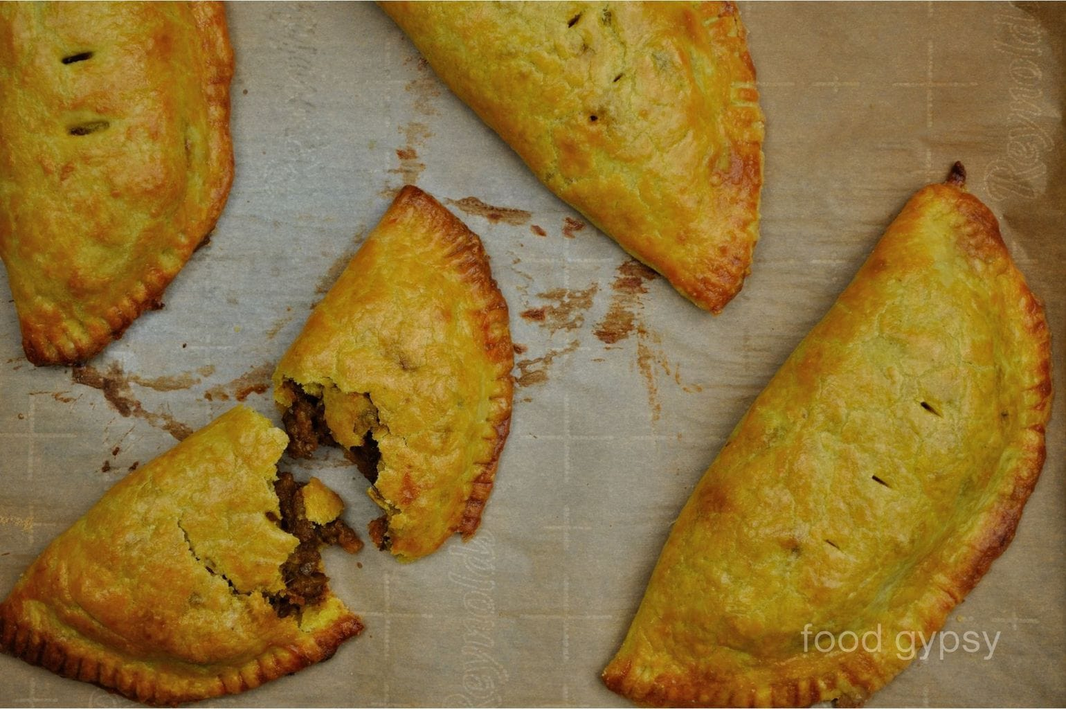 Flaky Jamaican Beef Patties, Food Gypsy