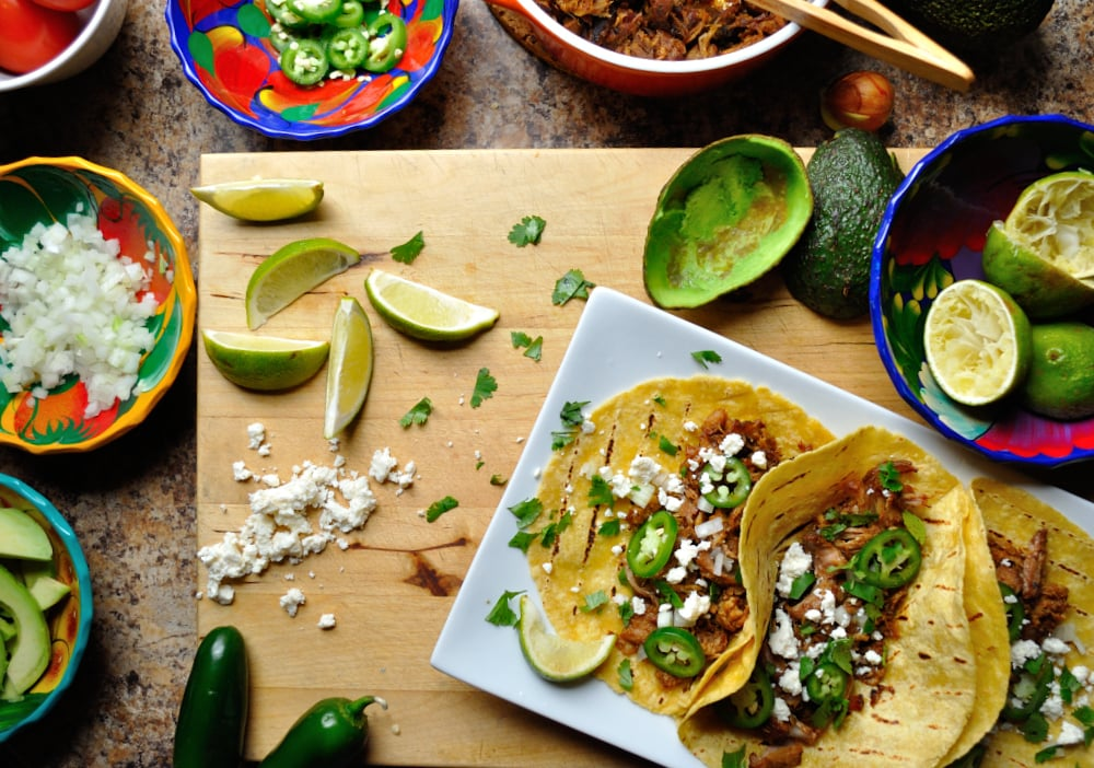 Yucatan Carnitas Tacos, Recipe