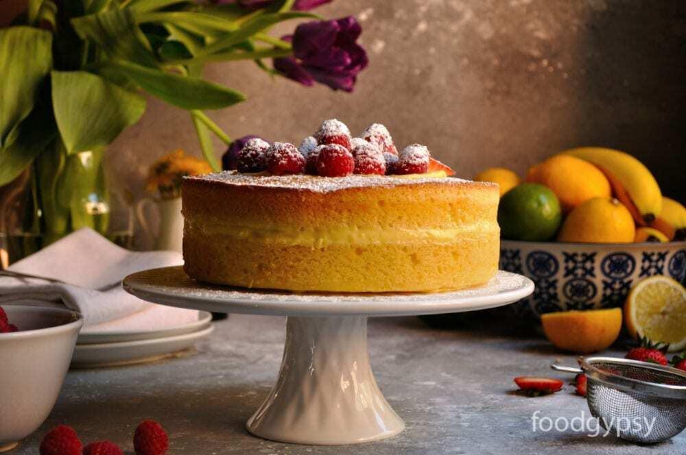 Lemon Cake & Lemon Pastry Crea-Food,Gypsy