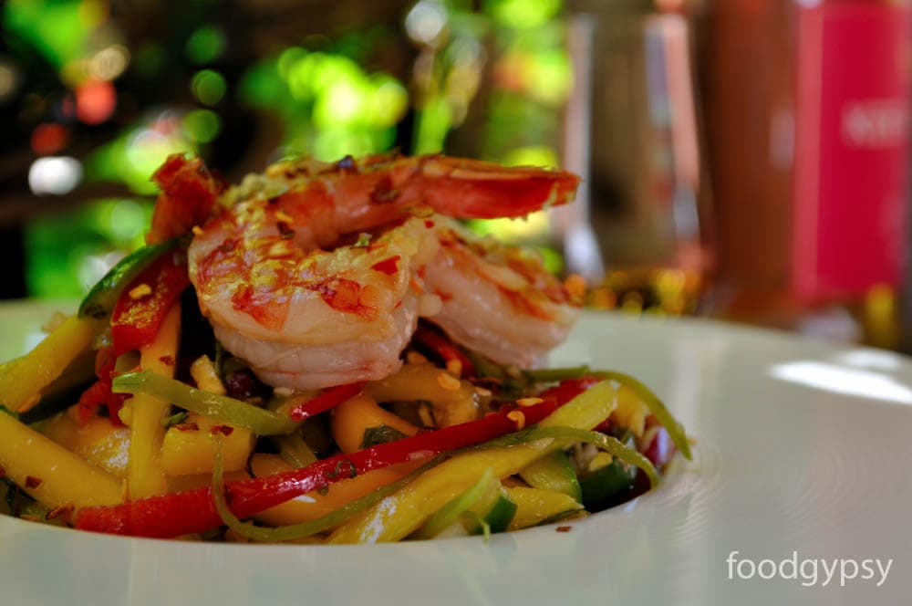 Spicy_Shrimp Mango Salad, Food Gypsy